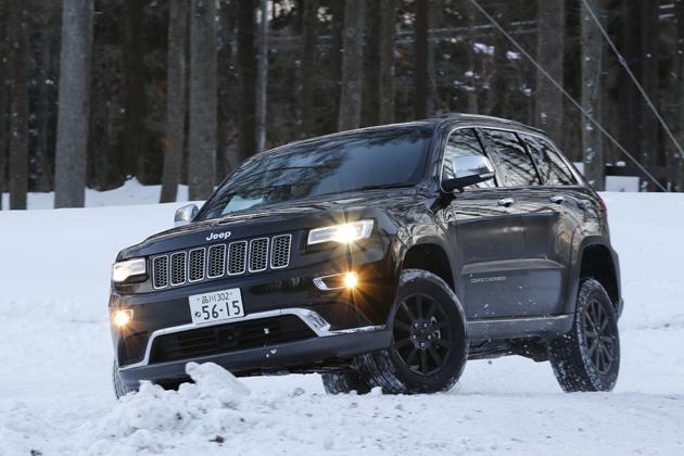 Jeep グランドチェロキー 雪上試乗でも安心感が絶大すぎる!これが本格クロカンだ!