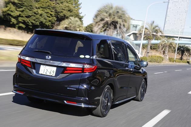 【試乗】ホンダ 新型オデッセイ ハイブリッドは発電機付き電気自動車!素晴らしく静かでなめらか。価格さえ魅力的なら…