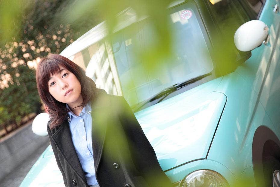 18才グラドル「高橋杏優」×「スズキ ラパン」【ドライブデート】