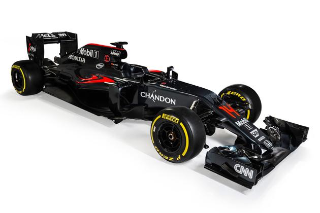 F1 McLaren‐Honda 新型マシン「MP4‐31」
