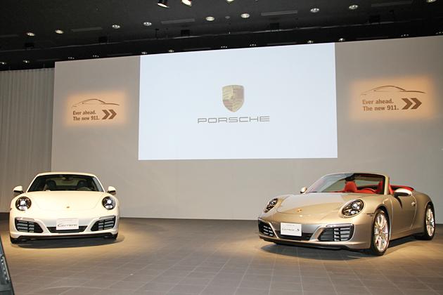 ポルシェ 新型911カレラ/カレラS カブリオレ