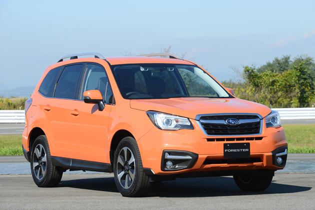 スバル 新型 フォレスター[D型]「X-BREAK(エックス・ブレイク) アドバンスドセイフティパッケージ装着車」(AWD/X-BREAK専用ボディカラー:タンジェリンオレンジ・パール)