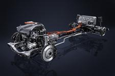 「マルチステージハイブリッドシステム」を採用するレクサスLC500h