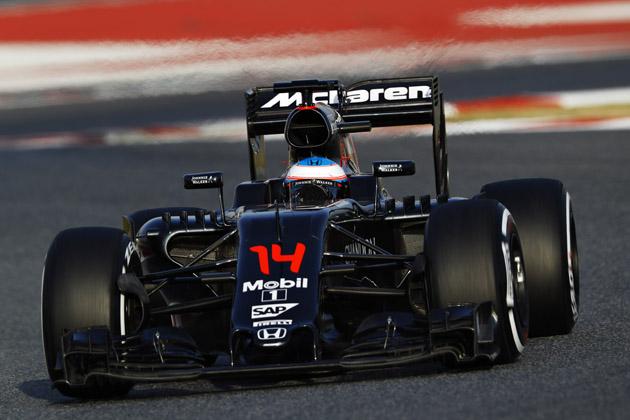 F1 2016 バルセロナテスト(フェルナンド・アロンソ)