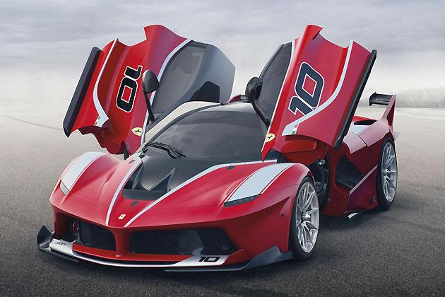 フェラーリ「FXX K」