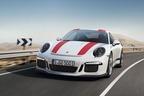 """伝説の「ポルシェ 911R」が復活!""""911台限定""""で販売、価格は2600万円超【ジュネーブショー2016】"""