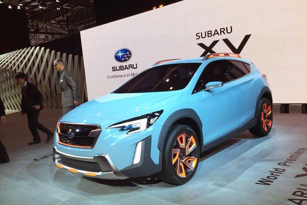 スバル新型インプレッサ第3のモデル「XVコンセプト」世界初公開!新開発1.6リッター水平対向エンジン搭載か