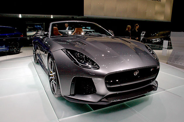 ジャガー新型「Fタイプ SVR」