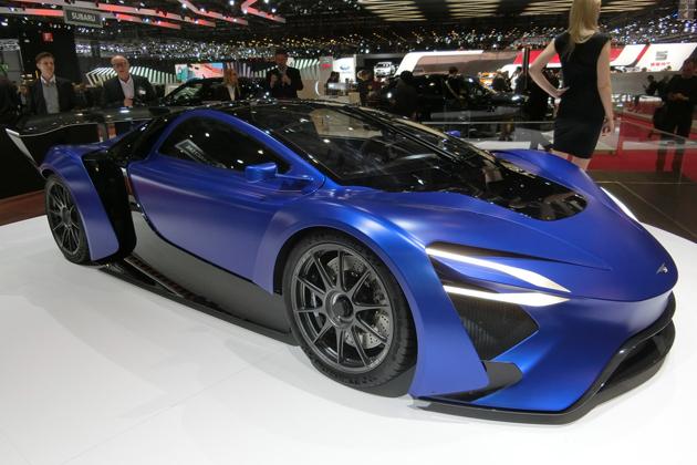 ついに出る!タービンエンジン搭載で1000馬力超の中国製スーパーカー!ライバルはアヴェンタドール