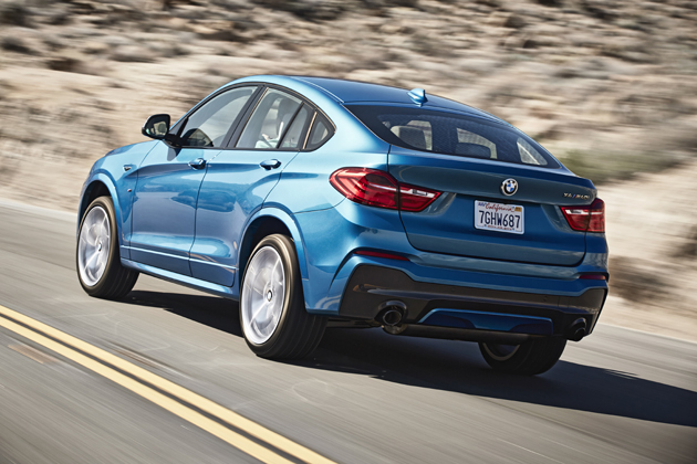 BMW X4 M40i 試乗レポート/九島辰也