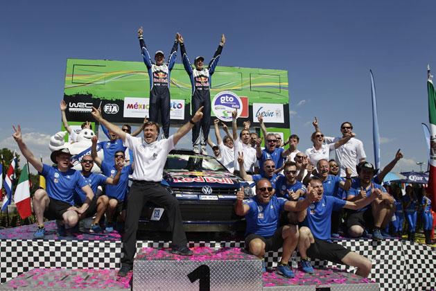 2016 年世界ラリー選手権(WRC)第 3 戦「ラリー・メキシコ」