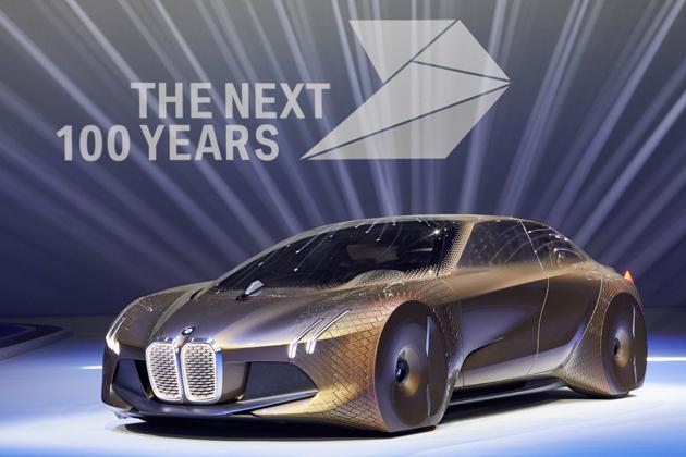 "BMWが""次の100年""を見据えたコンセプトカーを発表!「BMW VISION NEXT 100」"