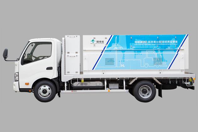 簡易水素充填車(岩谷産業)