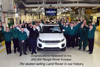 ランドローバー「レンジローバーイヴォーク」 生産開始4年で50万台を達成!