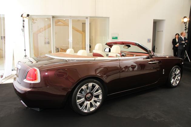 「Rolls-Royce DAWN」(ロールスロイス ドーン) お披露目会 イベントレポート[2016/03/16(水)/会場:souen 櫻井焙茶研究所(東京都港区西麻布)]
