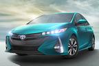 トヨタ 新型プリウスPHVを初公開!外はMIRAI?中はテスラ?充電プリウス新モデルの全貌