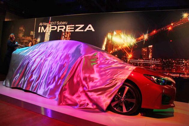 【速報】スバル 新型インプレッサ セダンをニューヨークショーに先立ち、プレショーで世界初公開!