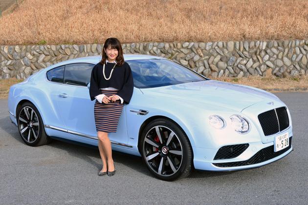 ベントレー コンチネンタル GT V8 S[2016年モデル] ショートインプレッション/今井優杏