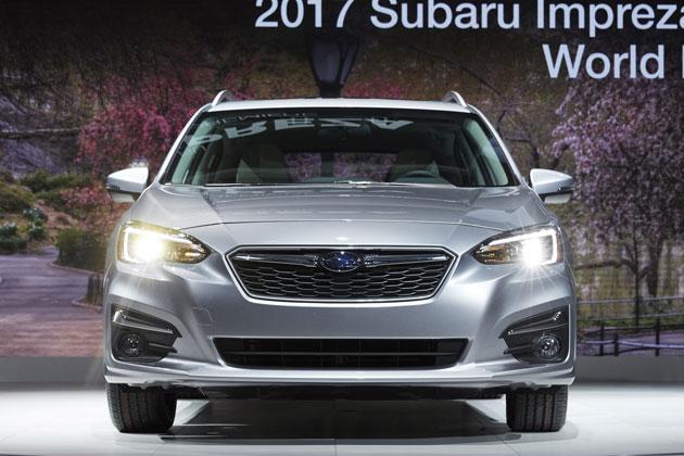 スバル新型「インプレッサ 5ドア」/NYモーターショー2016