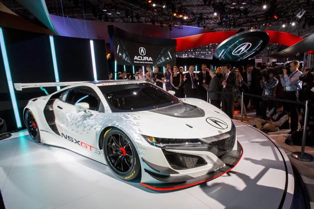 アキュラ NSX GT3レースカー/ニューヨークオートショー2016にて発表