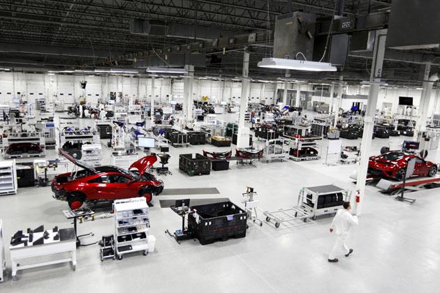 新型「NSX」生産工場