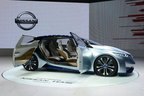 日産、自動運転車「ニッサンIDSコンセプト」を北京モーターショーに出展