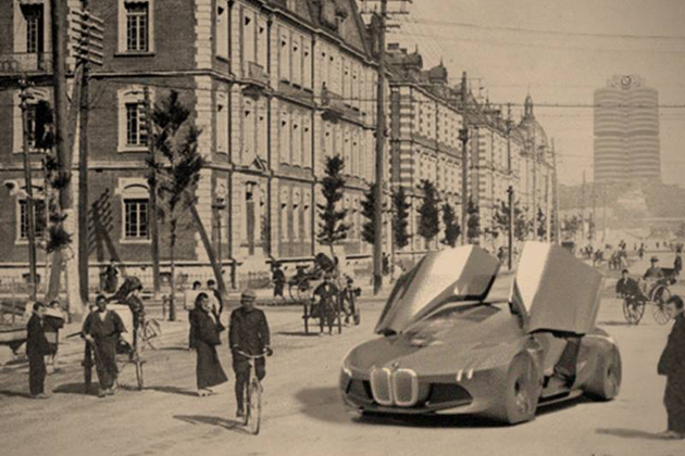 【BMW100周年】「i8」のようなスポーツカーが写る当時の貴重な写真を初公開!