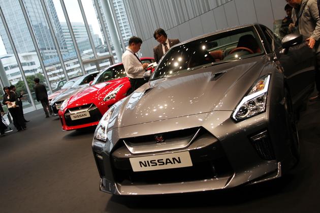 NISSAN GT-R 2017年モデル 披露会
