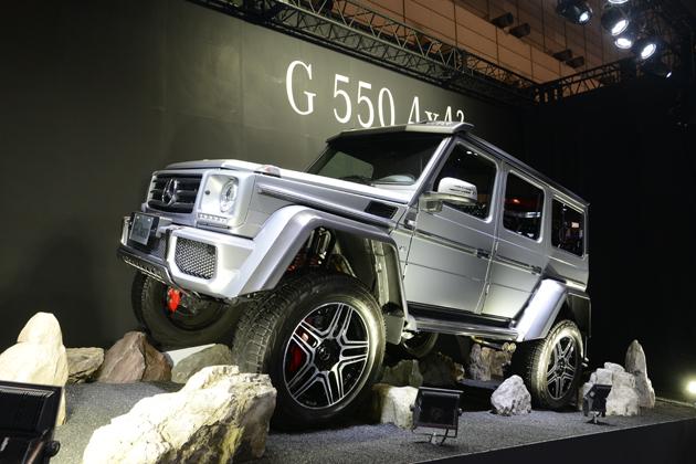 東京オートサロン2016に展示された「G550 4×4 2」