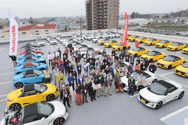 デビュー1周年を祝うS660が53台集結!「Honda S660 1st 生誕祭 & Modulo 感謝デー」イベントレポート