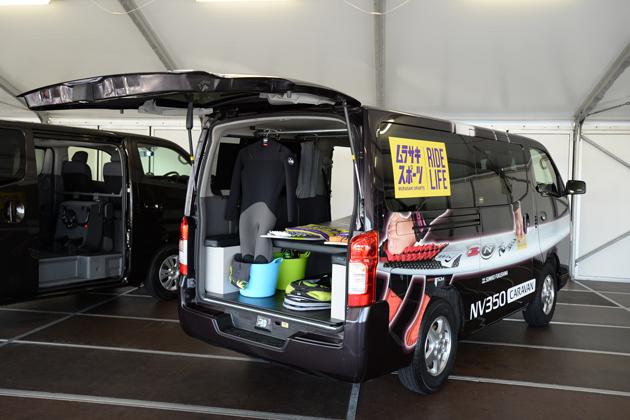日産 電気トラック「e-NT400テストトラック」/商用バン「NV350キャラバン」試乗レポート/国沢光宏