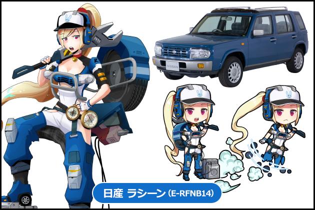 【車なご図鑑】ラシーン