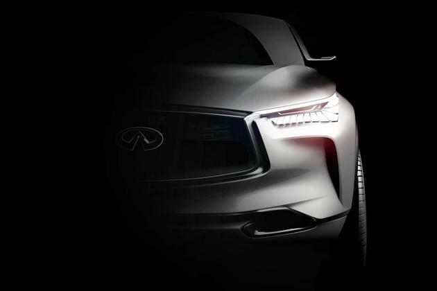 インフィニティ 新型SUVコンセプト「QX Sport Inspiration」