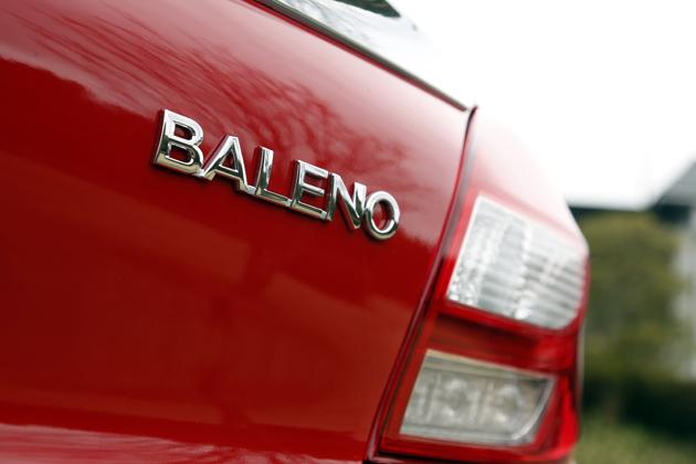スズキ新型「バレーノ」 ボディカラー:ファイヤーレッド