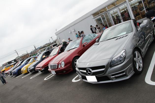 当日は、Anycaのオーナーやドライバーなどユーザー同士がAnyca登録車を相互試乗する姿も