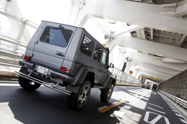 「メルセデス・ベンツ G 550 4x4(フォー・バイ・フォー) スクエアード」[限定モデル] 試乗レポート/国沢光宏