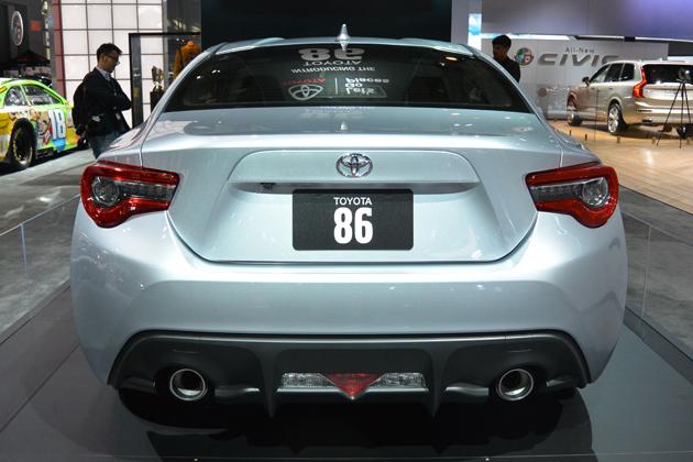 トヨタ 86(MC)モデル  ※米国仕様/ニューヨークショー2016