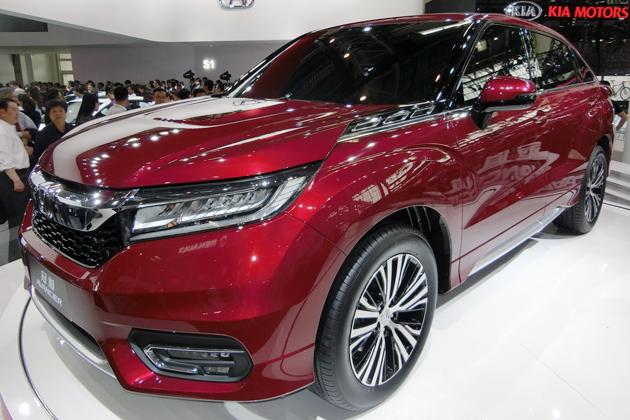 ホンダ「アヴァンシア」が復活!ワゴンではなく、ホンダブランドの中国最上級SUVで!