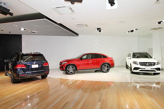 """メルセデス・ベンツ、""""SUVイヤー""""第3弾となる3車種、新型『GLEクーペ/GLS/メルセデスAMG GLE 43』を発表"""