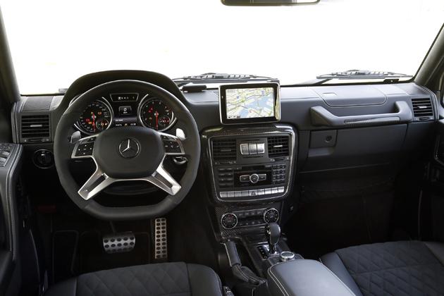「メルセデス・ベンツ G 550 4x4 スクエアード」
