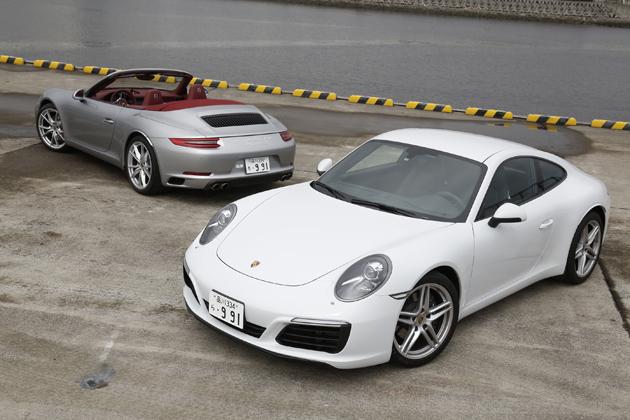 ポルシェ新型911 カレラ/911 カレラS カブリオレ[991型 2016年モデル(ダウンサイジングターボ搭載)] 試乗レポート