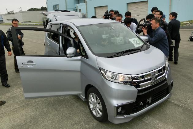 三菱自の燃費不正問題を受け、国交省が三菱車の公開試験を実施!試験結果は6月末に