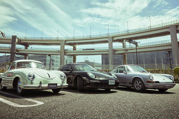 ポルシェ 356 Pre A、997 Carrera S、911 T