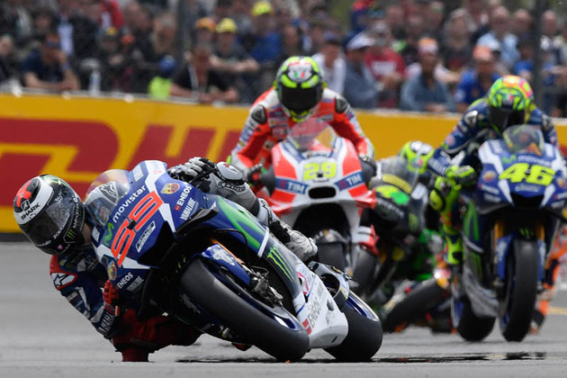 #99 J.ロレンソ (ヤマハ)/MotoGP第5戦 フランスGP