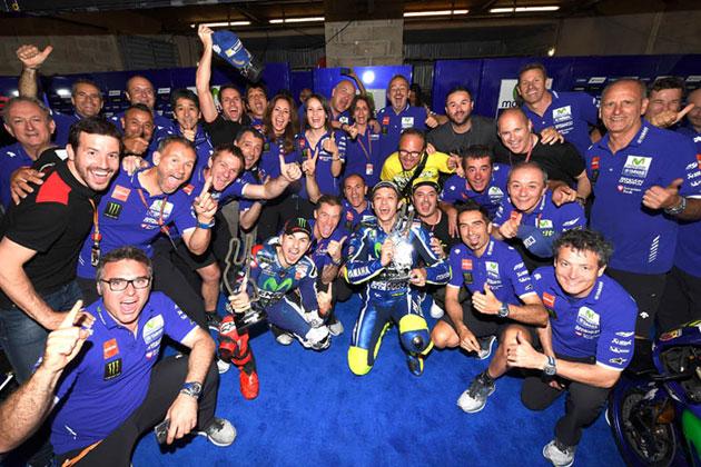 ヤマハ1-2フィニッシュ/MotoGP第5戦 フランスGP