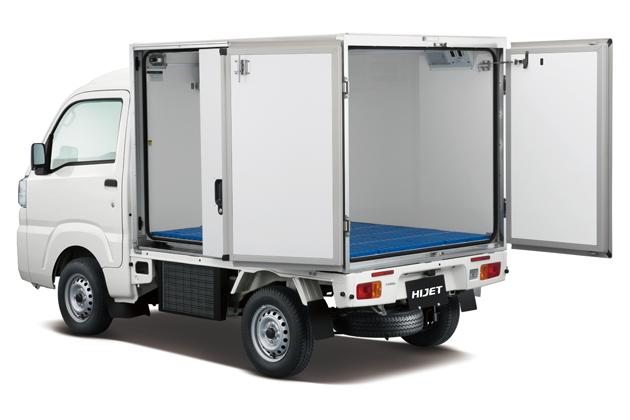 ダイハツ ハイゼットトラック カラーアルミ中温冷凍車