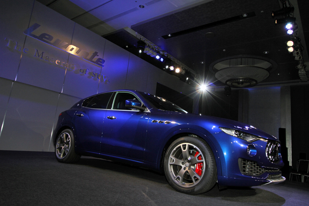 あのマセラティまでもが新規参入!/新型SUV「マセラティ レヴァンテ」発表会レポート
