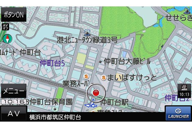 仲町台_詳細図(G1000)