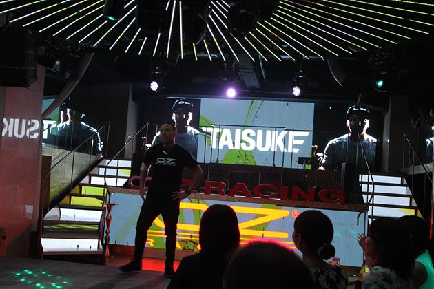 ブレイクダンサーの「TAISUKE」さん
