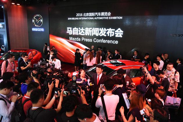 マツダ 新型「CX-4」/北京モーターショー2016